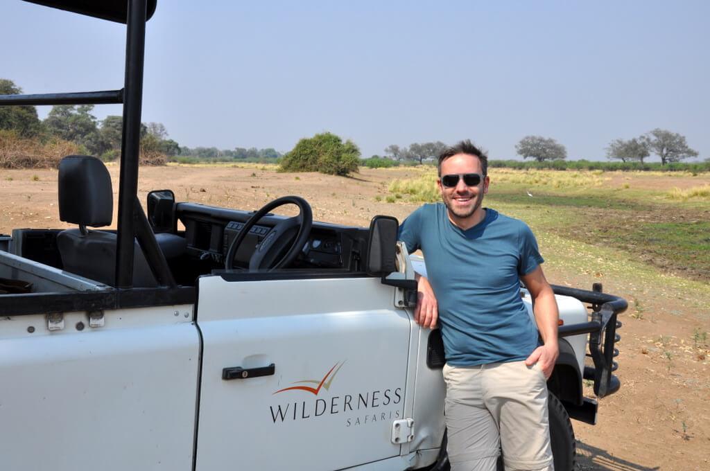 Simbabwe und Victoria Falls mit Wilderness Safaris sonne simbabwe safari land und leute afrika  tui berlin Pirschfahrt Mana Pools Nationalpark
