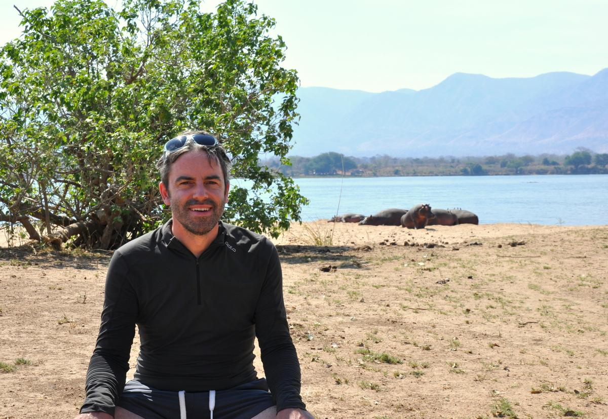 Zwischen Sambia und Simbabwe   mit dem Kanu unterwegs auf dem Sambesi sonne simbabwe safari reisebericht afrika  TUI Berlin Reisebüro Paddeltour Sambesi Jörg Kästner