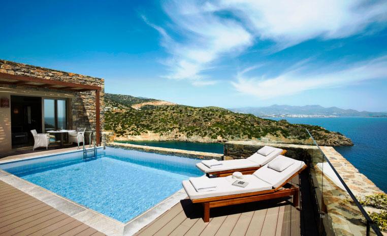 Luxusurlaub mit Preisvorteil: Daios Cove Luxury Resort – 25 % Ermäßigung! tui hotels sonne griechenland angebote und specials angebot  tui berlin daios cove private pool1