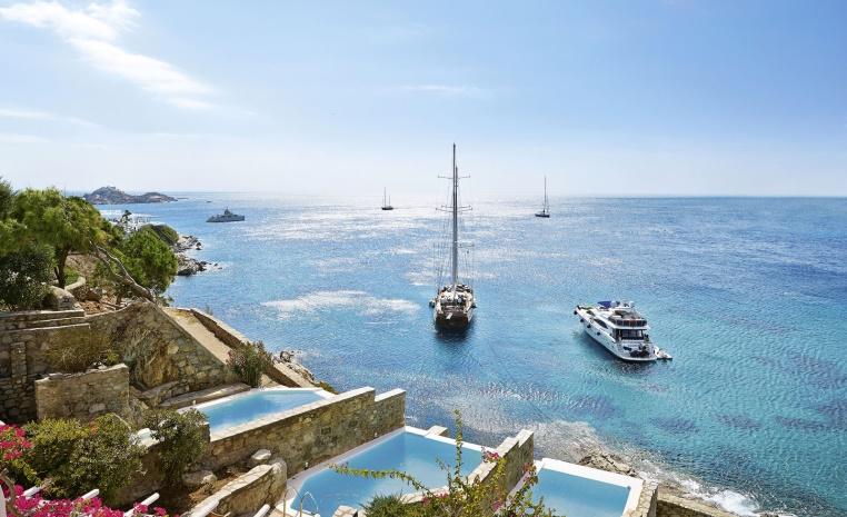 Designhotels in Griechenland   unsere Empfehlungen tui hotels strand griechenland expertentipps angebote und specials  tui berlin grecotel mykonos blu private pool