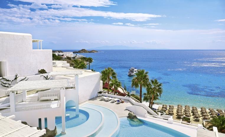 Designhotels in Griechenland   unsere Empfehlungen tui hotels strand griechenland expertentipps angebote und specials  tui berlin grecotel mykonos blu uebersicht