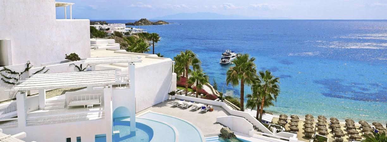 TUI, Reisebüro, World of TUI, Berlin, Luxushotel, Expertentipp, Designhotel, Grecotel Mykonos Blu, Notos Therme & Spa, Greichenland, Santorin, Mykonos