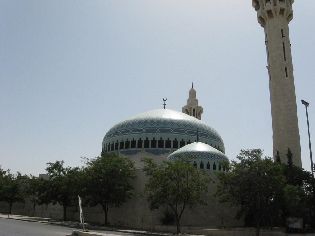 Jordanien und Syrien entdecken staedtereisen sonne afrika  Kopie von Bl.Moschee Amm
