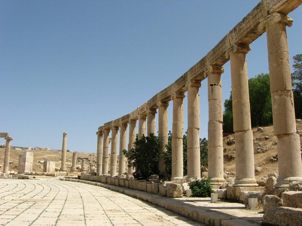 Jordanien und Syrien entdecken staedtereisen sonne afrika  Kopie von Jerash4