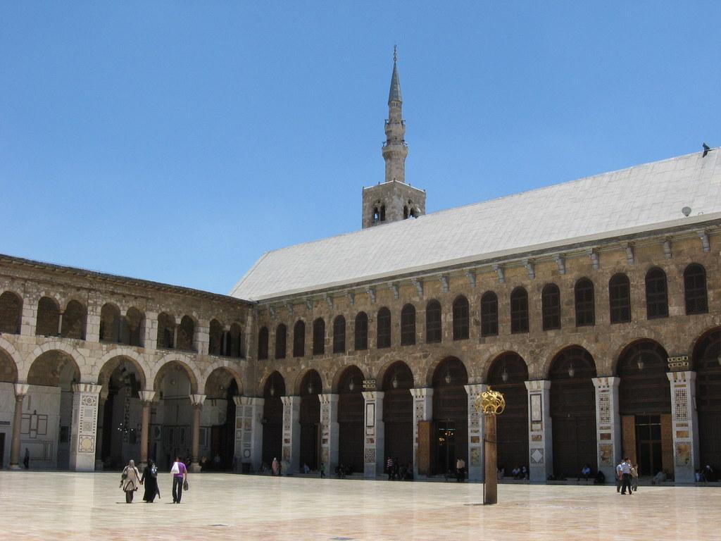 Jordanien und Syrien entdecken staedtereisen sonne afrika  Kopie von OmaijadenMoschee1
