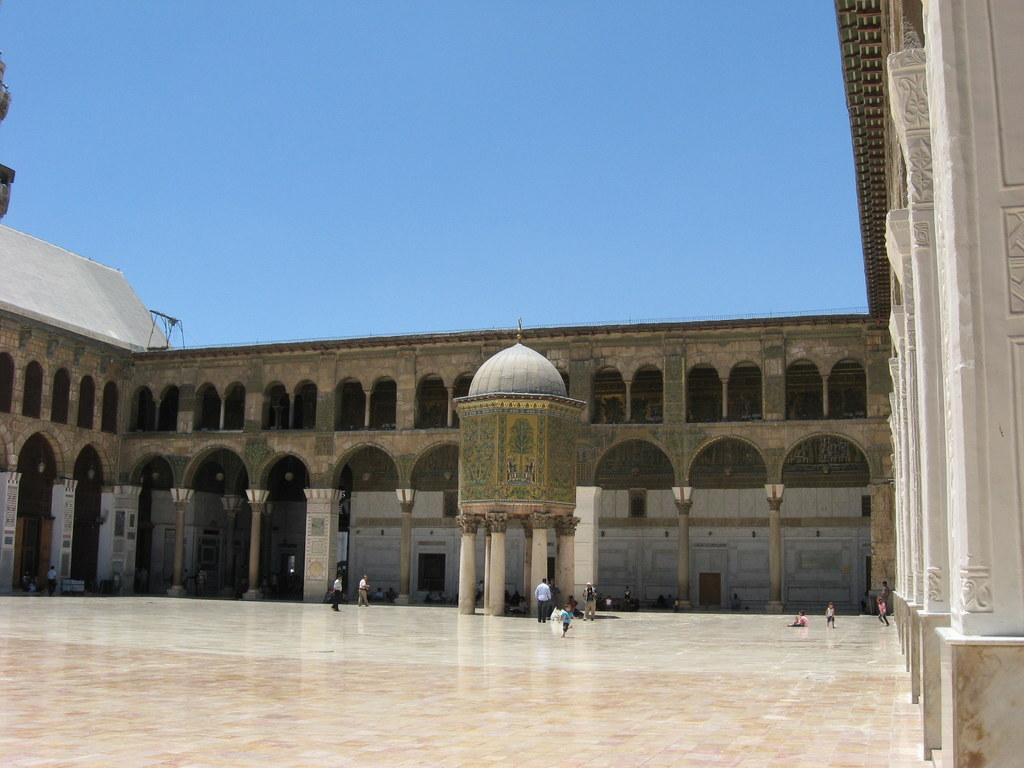Jordanien und Syrien entdecken staedtereisen sonne afrika  Kopie von OmaijadenMoschee2