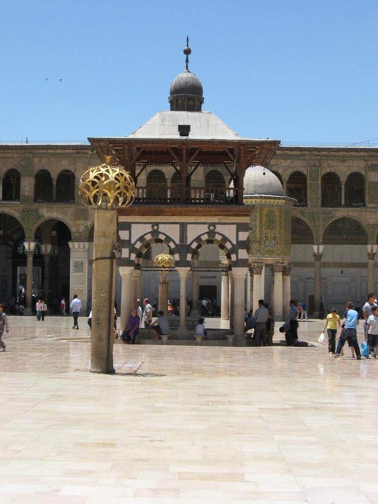 Jordanien und Syrien entdecken staedtereisen sonne afrika  Kopie von OmaijadenMoschee5