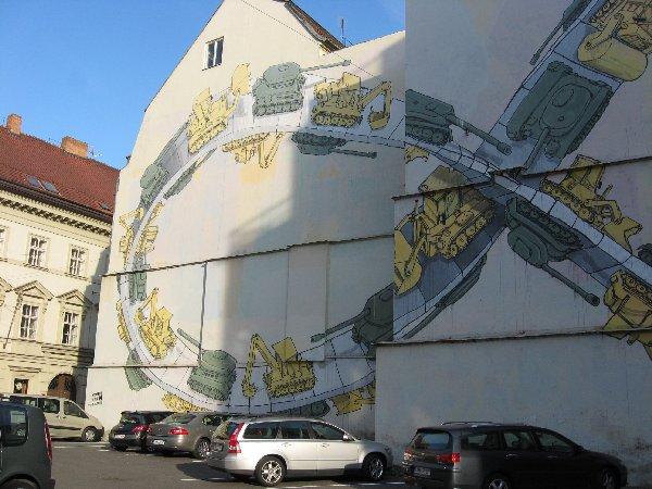 Prag. Die Goldene Stadt neu entdecken. tschechien staedtereisen europa  wandmalerei