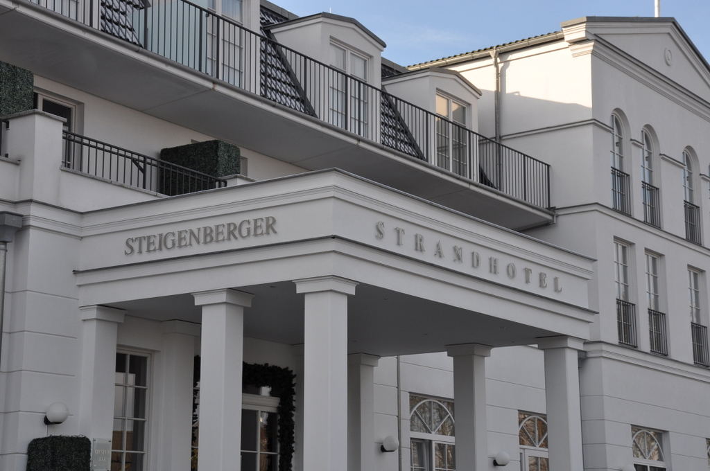 Steigenberger Strandhotel Zingst strand europa  DSC 5882