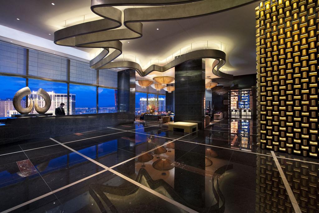 Hoteltipp Las Vegas: Mandarin Oriental usa staedtereisen karibik mittelamerika  molas 07 sky lobby sm