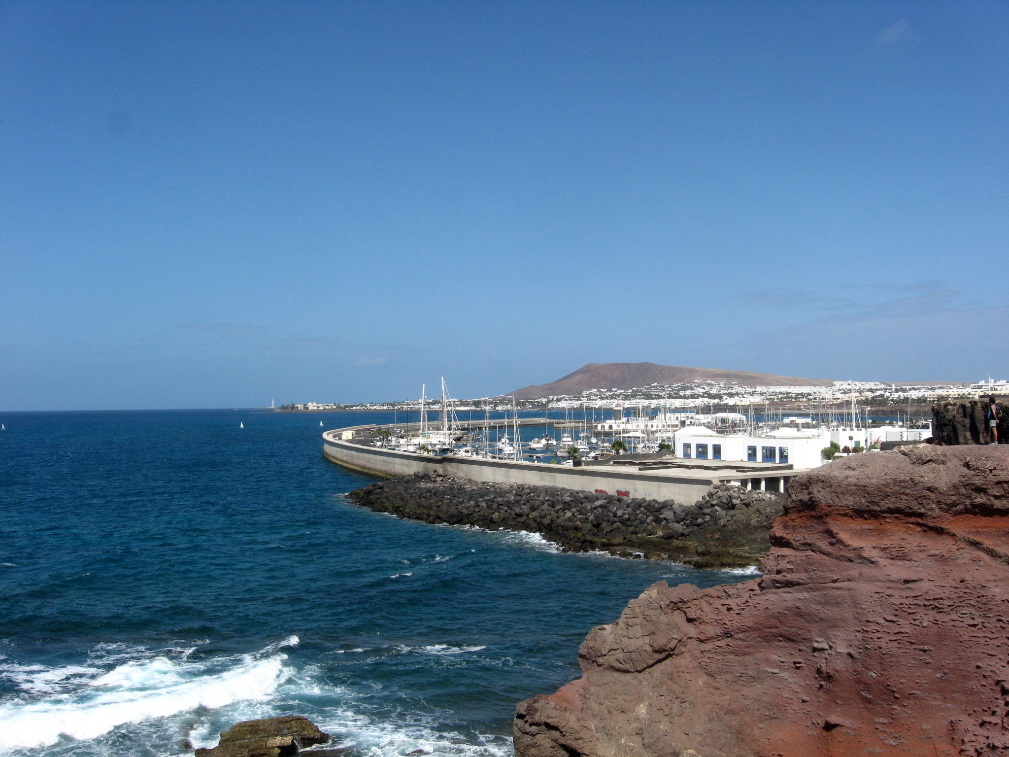 Familienurlaub an der Playa Blanca. Lanzarote. staedtereisen sonne familie europa  IMG 2549