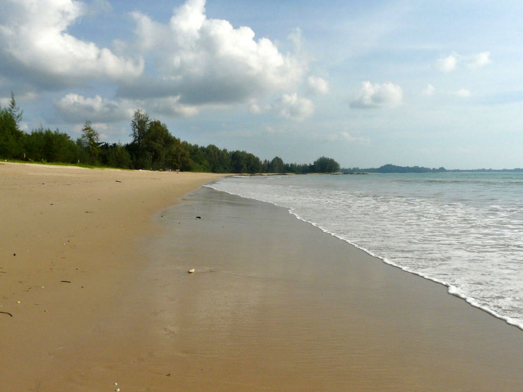 Südthailand. Khao Lak thailand strand sonne asien  P1040271