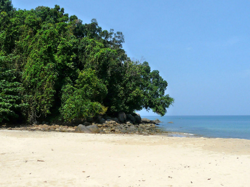 Südthailand. Khao Lak thailand strand sonne asien  P1040652