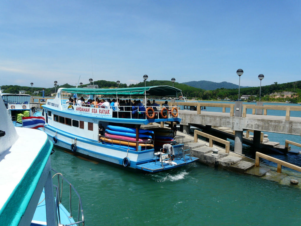 Südthailand. Khao Lak thailand strand sonne asien  P1040877