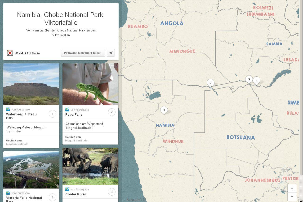 Mit Gebeco von Namibia über den Chobe National Park zu den Viktoriafällen sonne simbabwe safari land und leute namibia botswana afrika  Chobe