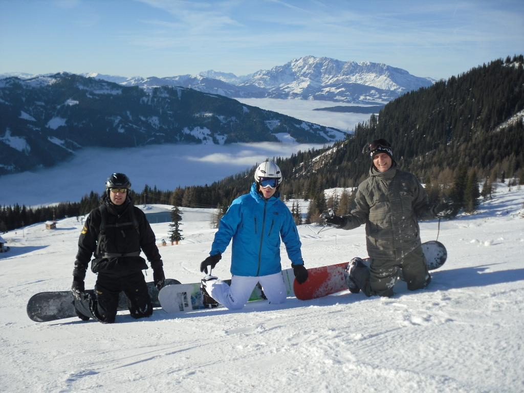 ROBINSON Skiopening 2011. World of TUI persönlich winterurlaub schnee oesterreich europa  SDC18949
