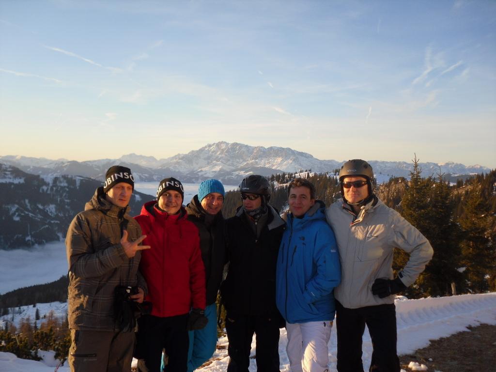 ROBINSON Skiopening 2011. World of TUI persönlich winterurlaub schnee oesterreich europa  SDC18954
