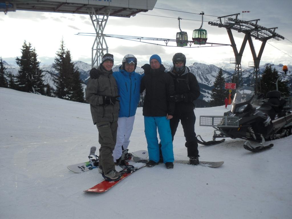 ROBINSON Skiopening 2011. World of TUI persönlich winterurlaub schnee oesterreich europa  SDC18969