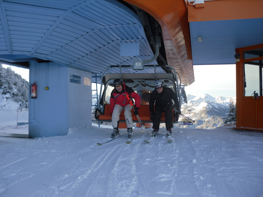 ROBINSON Skiopening 2011. World of TUI persönlich winterurlaub schnee oesterreich europa  SDC189871