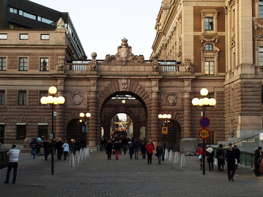 Stockholm   eine königliche Reise staedtereisen familie europa  PC112503