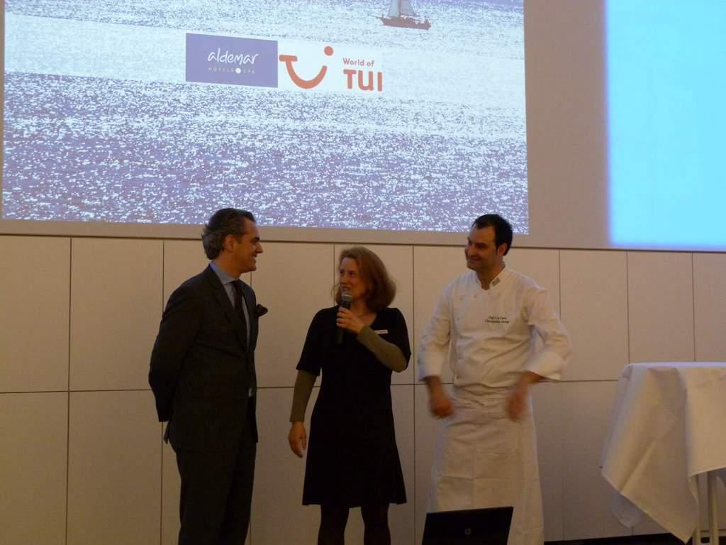 Griechisch Kochen in der World of TUI staedtereisen europa  P1050980