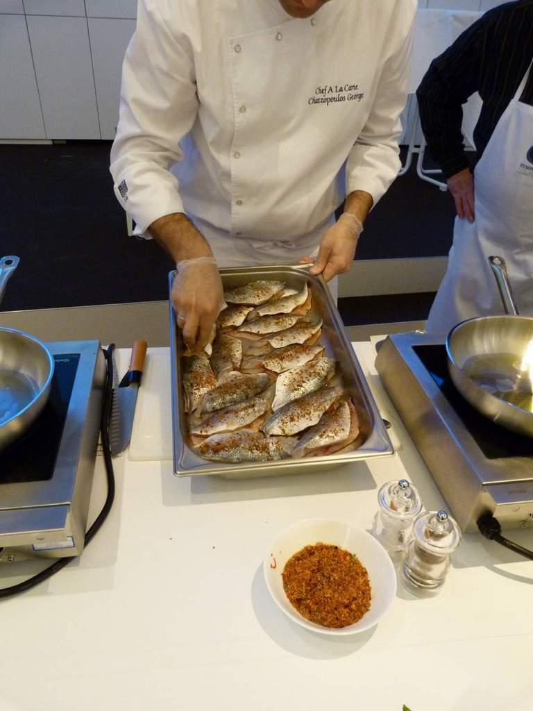 Griechisch Kochen in der World of TUI staedtereisen europa  P1060116