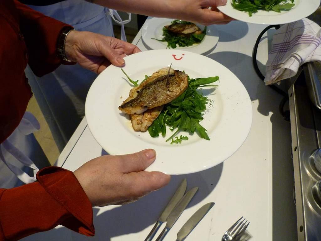 Griechisch Kochen in der World of TUI staedtereisen europa  P1060210