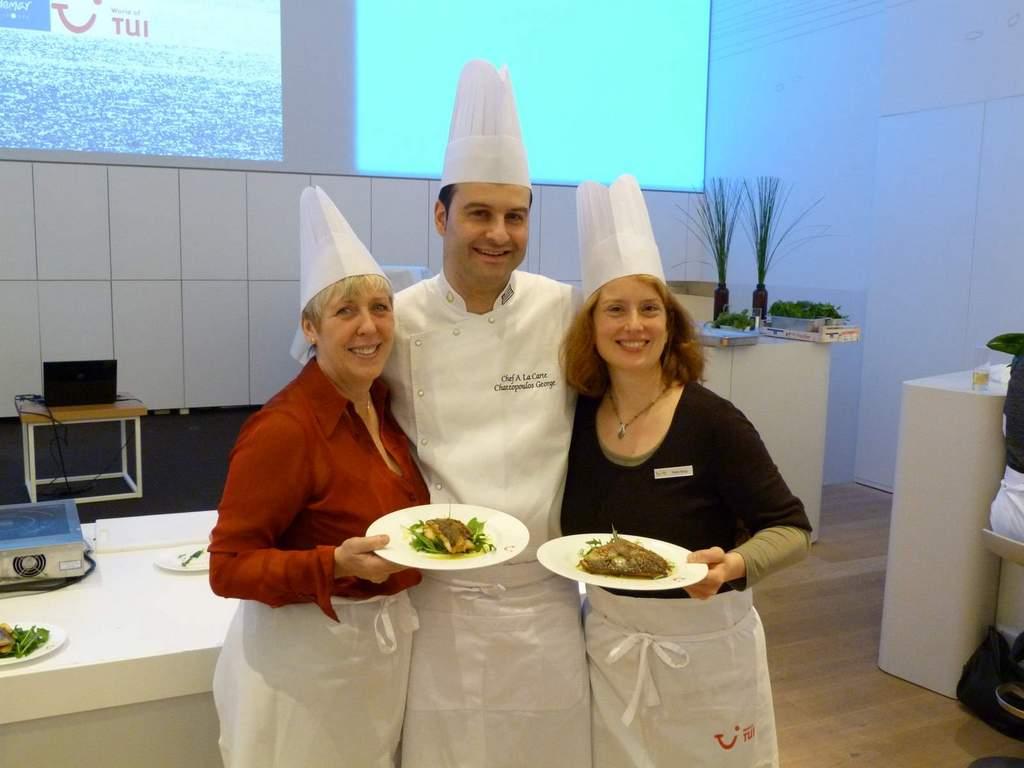 Griechisch Kochen in der World of TUI staedtereisen europa  P1060227