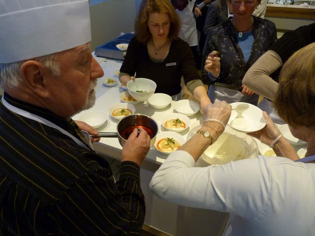 Griechisch Kochen in der World of TUI staedtereisen europa  P1060287