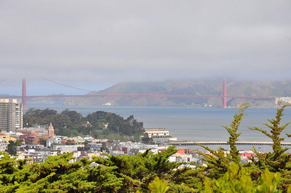 California Road Trip II. Von San Francisco nach Seattle. usa staedtereisen land und leute karibik mittelamerika  tui berlin usa san francisco golden gate bridge telegraph hill