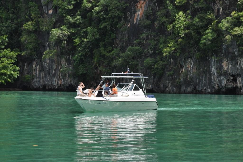 Six Senses Hideaway Yao Noi thailand strand sonne reisebericht asien  tui berlin Six Senses Yao Noi Bootfahren