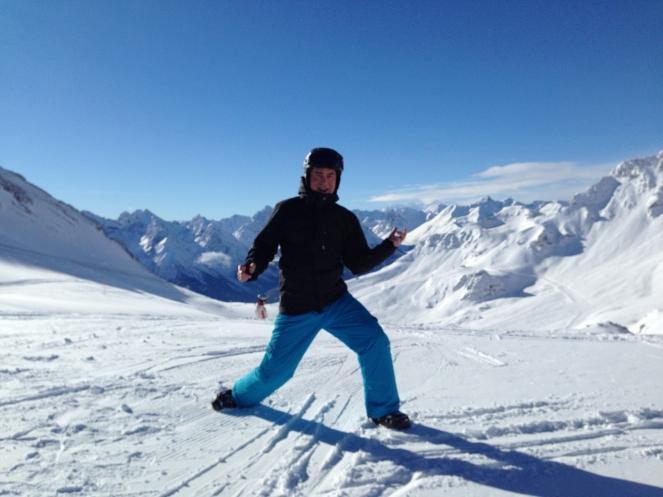 Ski Opening 2012 im ROBINSON CLUB Amadé. schnee oesterreich familie europa  tui berlin robinson club amade matthias kant