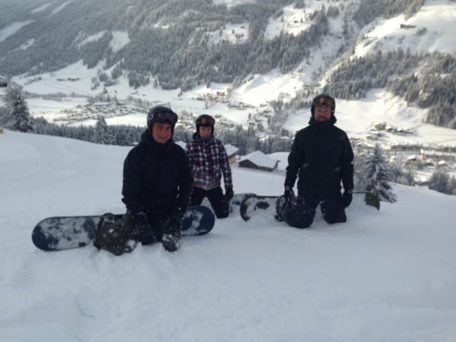 Ski Opening 2012 im ROBINSON CLUB Amadé. schnee oesterreich familie europa  tui berlin robinson club amade piste gruppe