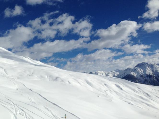 Ski Opening 2012 im ROBINSON CLUB Amadé. schnee oesterreich familie europa  tui berlin robinson club amade piste