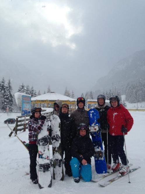 Ski Opening 2012 im ROBINSON CLUB Amadé. schnee oesterreich familie europa  tui berlin robinson club amade ski gruppe