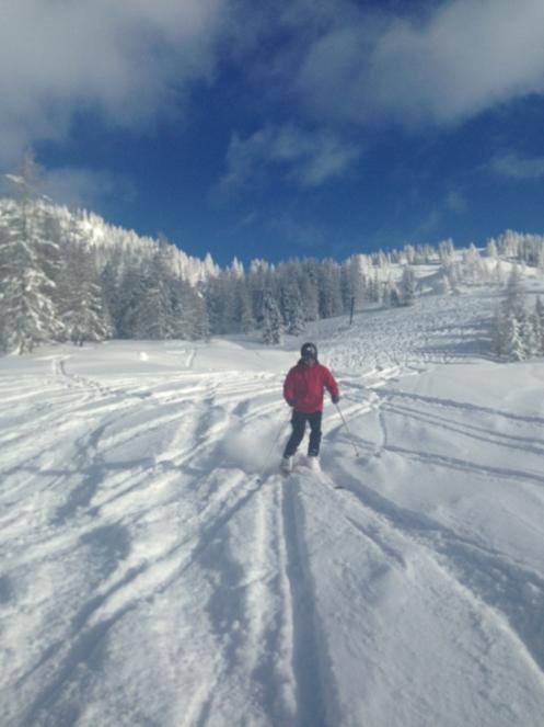 Ski Opening 2012 im ROBINSON CLUB Amadé. schnee oesterreich familie europa  tui berlin robinson club amade skifahren