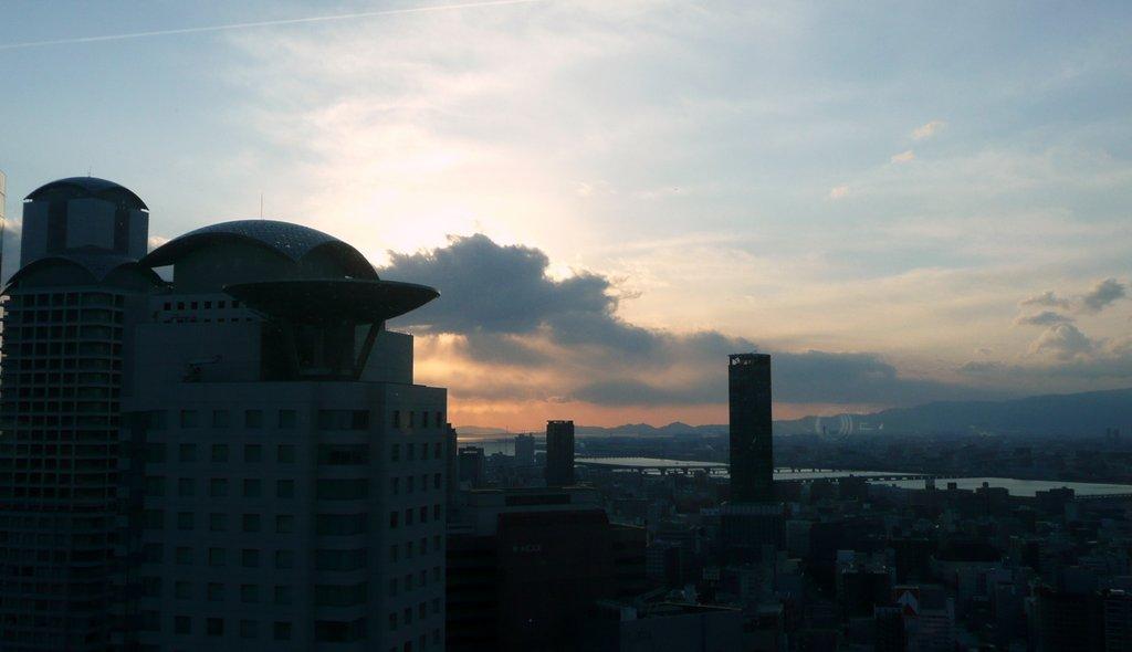 Japan. Das Land der aufgehenden Sonne. staedtereisen land und leute asien  tui berlin japan osaka abend sonnenuntergang