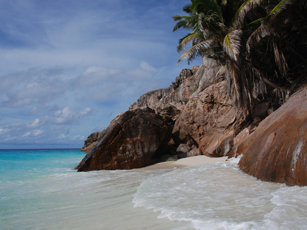 Seychellen. Frégate Island Private strand sonne seychellen reisebericht indischer ozean orient honeymoon 2  C.Diemar Seychellen Fr®gate Island blumiger Empfang
