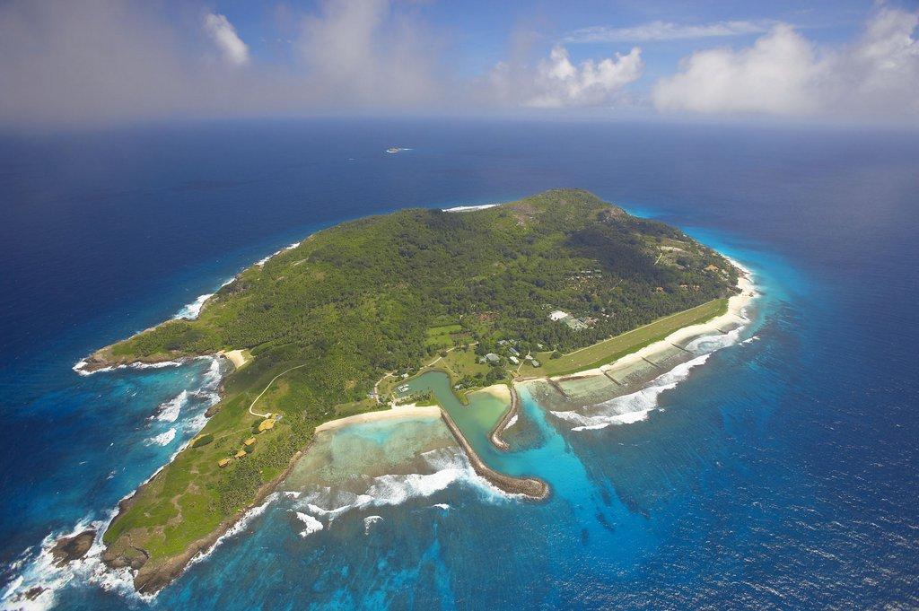 Seychellen. Frégate Island Private strand sonne seychellen reisebericht indischer ozean orient honeymoon 2  Fregate Island Private von oben