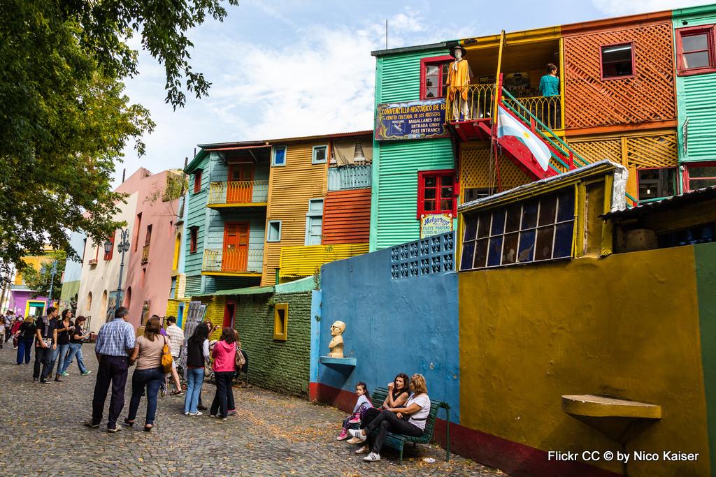 Tango, Taxi und Tortoni. Eine Odyssee durch das Nachtleben von Buenos Aires staedtereisen sonne land und leute argentinien karibik mittelamerika  6 el caminito