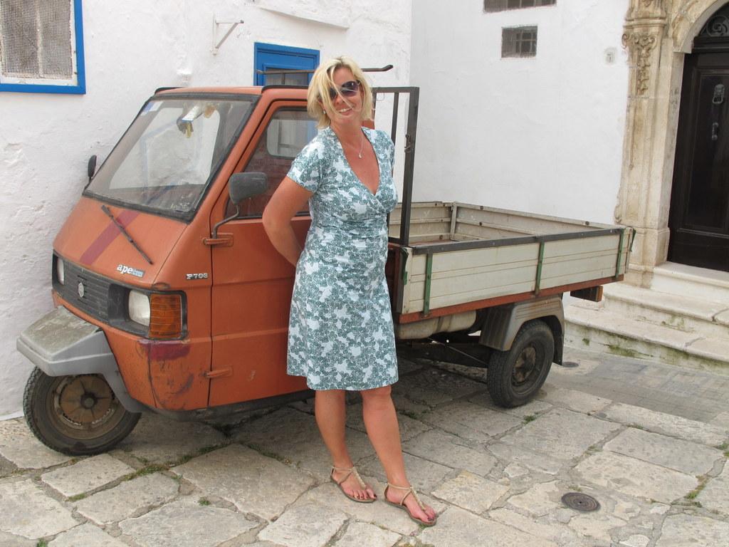 Sergio und die Trulli   Tour durch Apulien. staedtereisen sonne land und leute italien europa  Inge