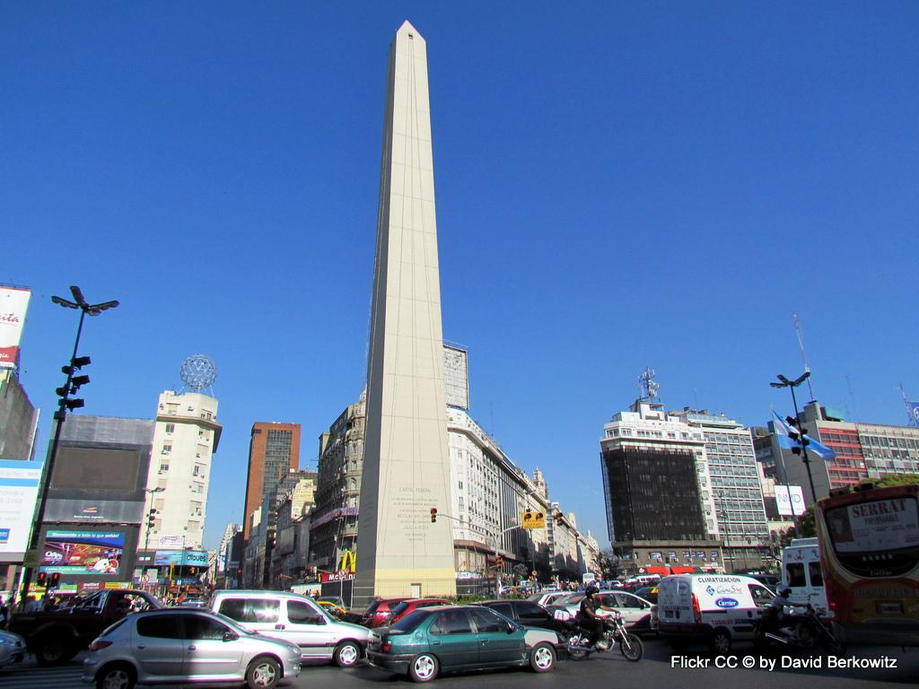 Tango, Taxi und Tortoni. Eine Odyssee durch das Nachtleben von Buenos Aires staedtereisen sonne land und leute argentinien karibik mittelamerika  Obelisk