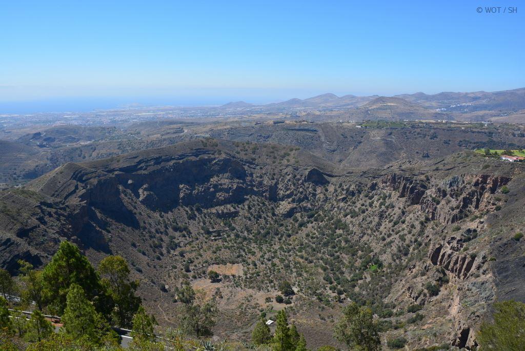 Schönheit wohnt im Hinterland. Gran Canaria abseits der Strände. strand sonne kanaren familie europa  tui berlin gran canaria caldera de bandama kraterrand