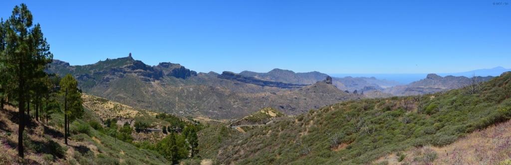 Schönheit wohnt im Hinterland. Gran Canaria abseits der Strände. strand sonne kanaren familie europa  tui berlin gran canaria landschaft panorama