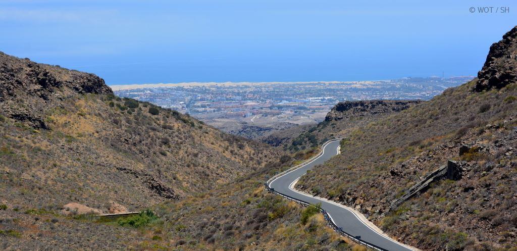 Schönheit wohnt im Hinterland. Gran Canaria abseits der Strände. strand sonne kanaren familie europa  tui berlin gran canaria panorama dünen maspalmoas