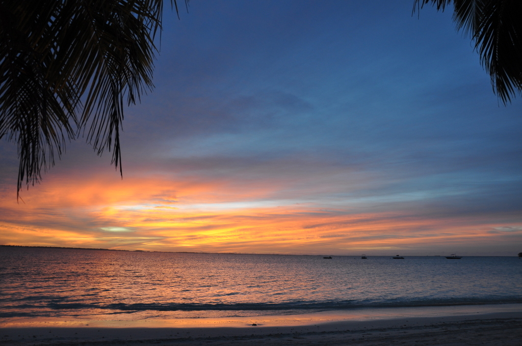 Shangri La Villingili   von Puderzuckerstrand und anderen Nebensächlichkeiten strand sonne malediven indischer ozean orient honeymoon 2  tui berlin Malediven Shangri La Villingili Sonnenuntergang