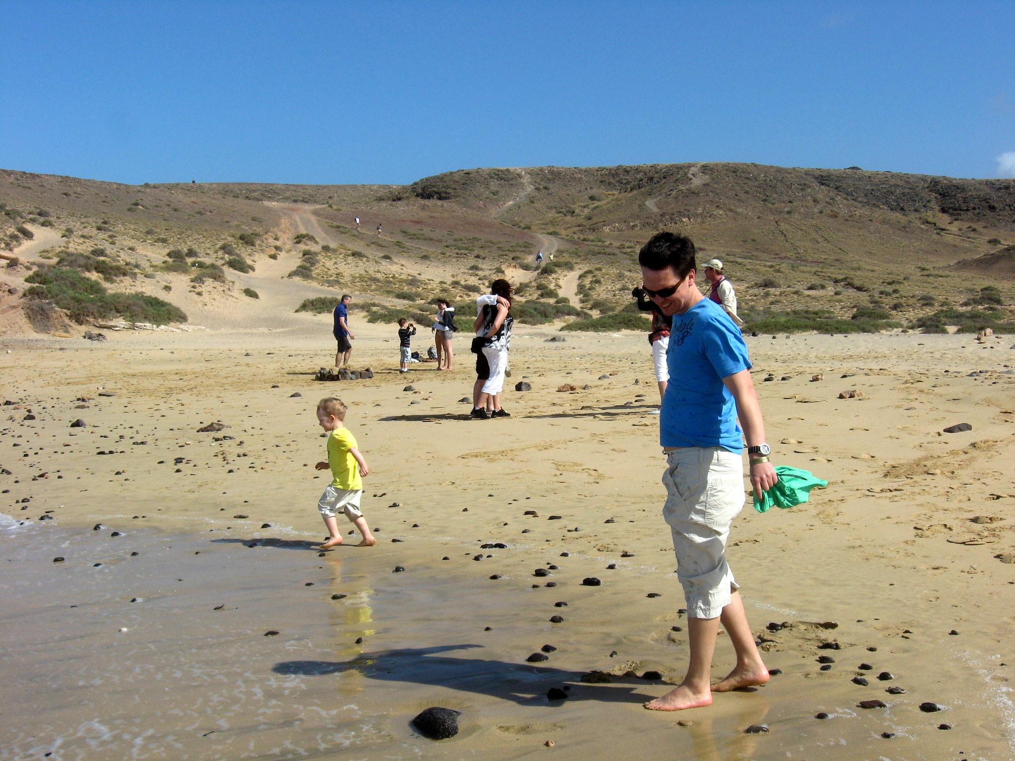 Familienurlaub an der Playa Blanca. Lanzarote. staedtereisen sonne familie europa  IMG 2514