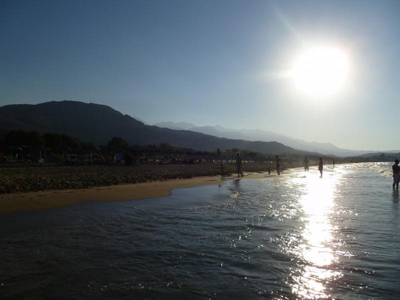 Wo sich jetzt der Sommer verlängern lässt. strand sonne  tui berlin strand georgioupolis