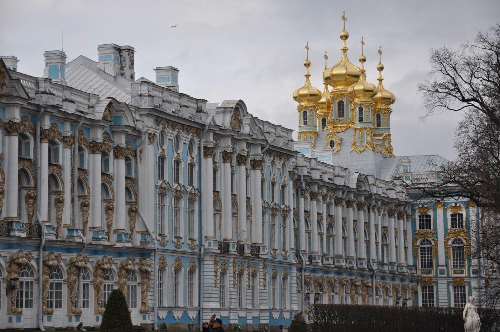 Sankt Petersburg. Kurzreise mit Widrigkeiten. Aber auch mit Glanz und Gloria. staedtereisen europa  tui berlin puschkin katharinenpalast