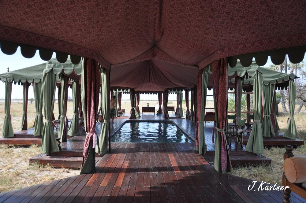 Botswana Treasures. sonne safari botswana afrika  tui berlin Botswana Jacks Camp Kalahari